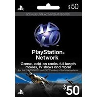 50 Playstation Network Card