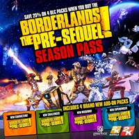 Borderlands: The Pre-Sequel! Season Pass + ПОДАРОК