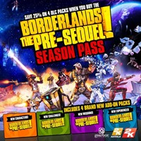 Borderlands: The Pre-Sequel Season Pass (Steam)