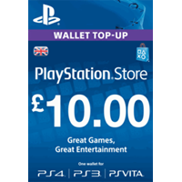PLAYSTATION NETWORK (PSN) - £10 GBP (UK) | СКИДКИ