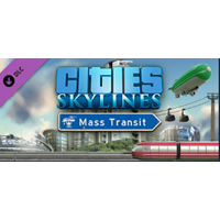 Cities: Skylines - Mass Transit [Steam Gift] + Подарок