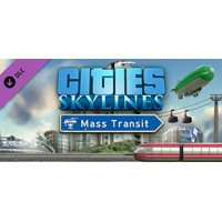 Cities: Skylines DLC Mass Transit ✅(Steam KEY)+ПОДАРОК
