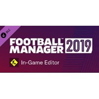 Football Manager 2019 In-Game Editor Steam Gift /РОССИЯ