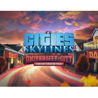 Cities: Skylines - University City Оригинал DLC