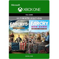 FAR CRY 5 + FAR CRY NEW DAWN Gold Edition XBOX ONE