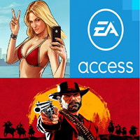 ❤️Red Dead Redemption 2 + GTA 5 + EA ACCESS XBOX ONE✅⭐