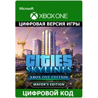 ✅ Cities: Skylines - Mayor's Edition XBOX ONE ключ 🔑