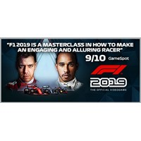 F1 2019 Anniversary Edition STEAM Key Region Free / ROW