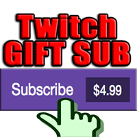 TWITCH Sub GIFT Subscriptions ✅