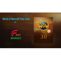 🥇World of Warcraft 30 days Time Card (US/NA) +CLASSIC
