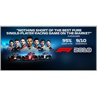 F1 2018 - Steam Key - Region Free / ROW / GLOBAL