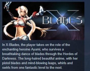 X-Blades STEAM KEY REGION FREE GLOBAL 💎