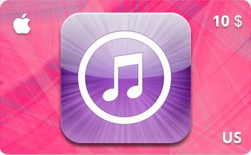 iTunes / App Store Gift Card 10$ USA-регион
