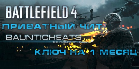 Battlefield 4 Hack by BauntiCheats 1 Месяц (1 Month)
