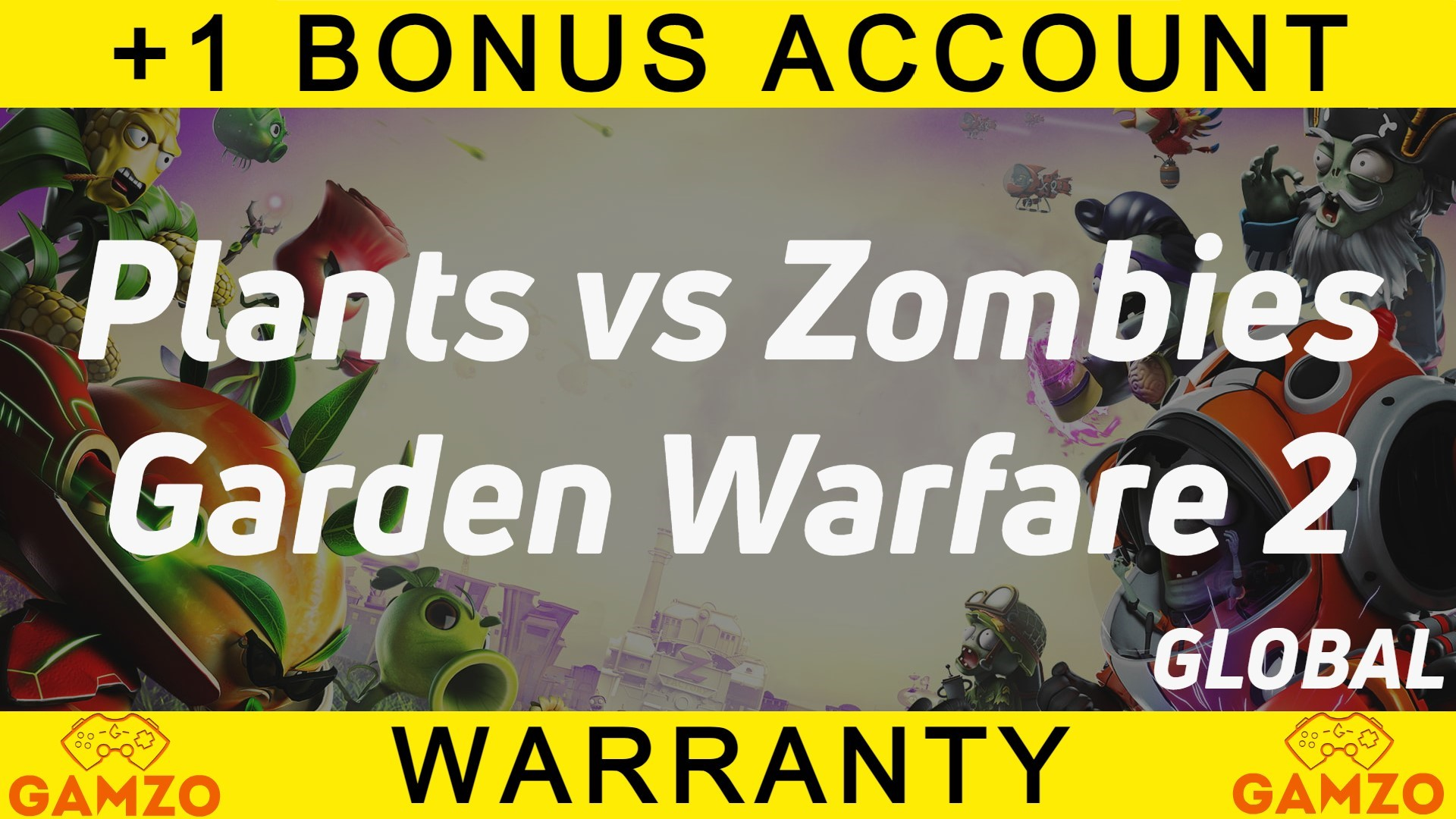 Plants vs. Zombies GW 2   Гарантия 5 лет   + Подарок