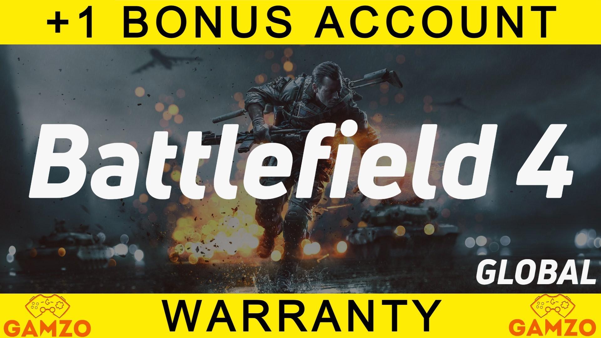 Battlefield 4   Гарантия 5 лет   + Подарок BF3
