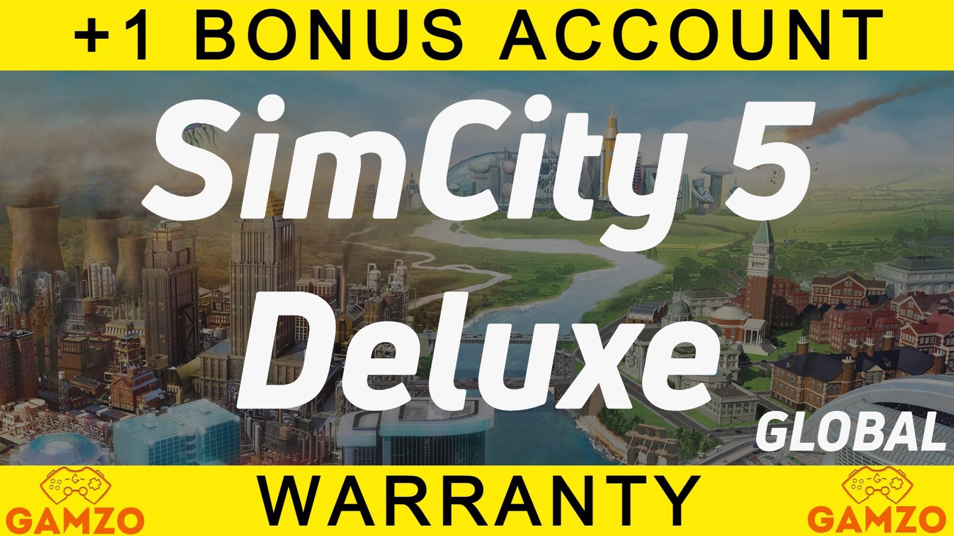 SimCity 5 Deluxe edition   Гарантия 5 лет   + Подарок