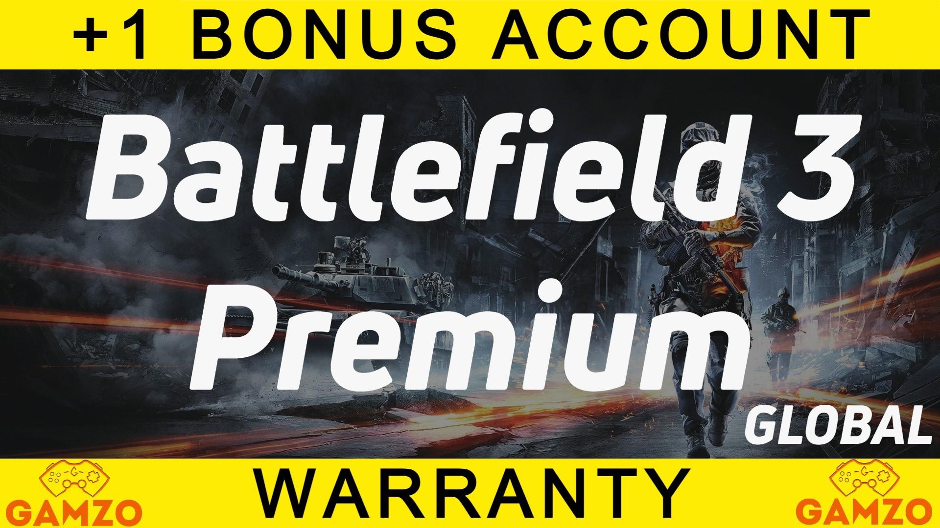 Battlefield 3 Premium   Гарантия 5 лет   + Подарок