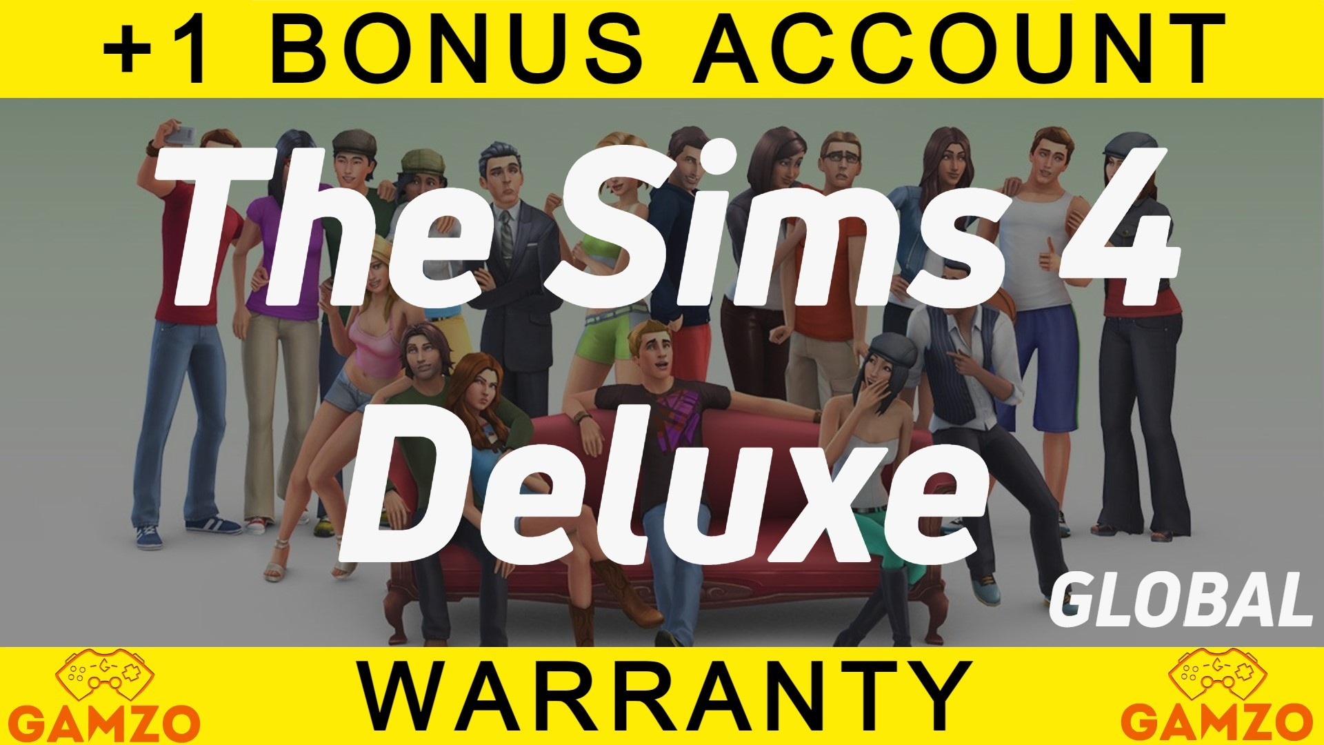 The Sims™ 4 Digital Deluxe   Гарантия 5 лет   + Подарок