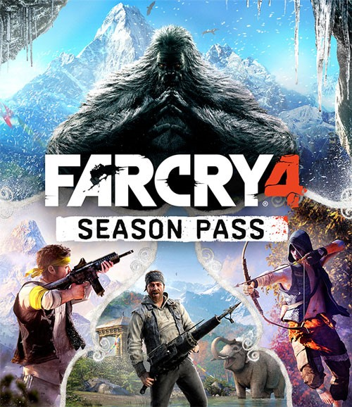 Season Pass - Far Cry 4  (Uplay KEY/Region FREE)