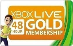 xbox live 48 часов(EURO/RUS/USA)