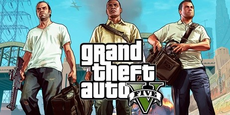 Кейс с Grand Theft Auto V, STEAM Ключ