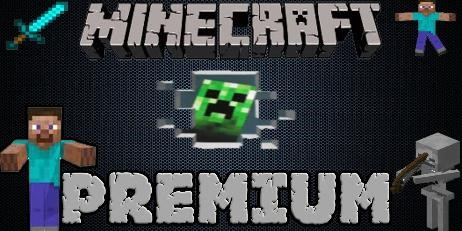 MineCraft Premium аккаунт с доступом на сайт