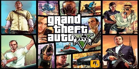 GTA 5 Grand theft auto V + CS : GO