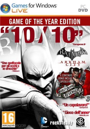 Batman: Arkham City (GOTY) (Ключ STEAM/Region Free)