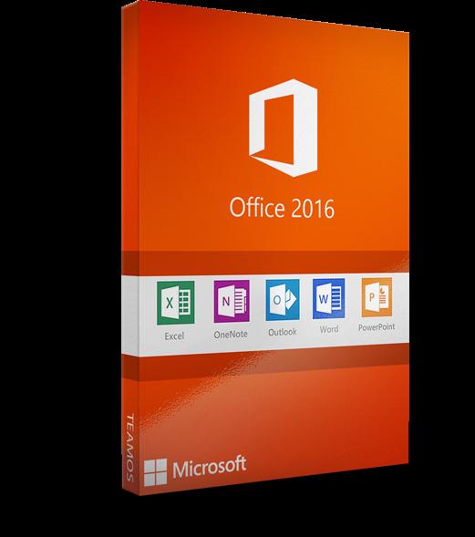 Microsoft office 2016 pro plus 1PC