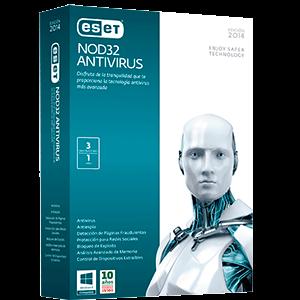 ESET NOD32 Антивирус (24 месяцева/3ПК)