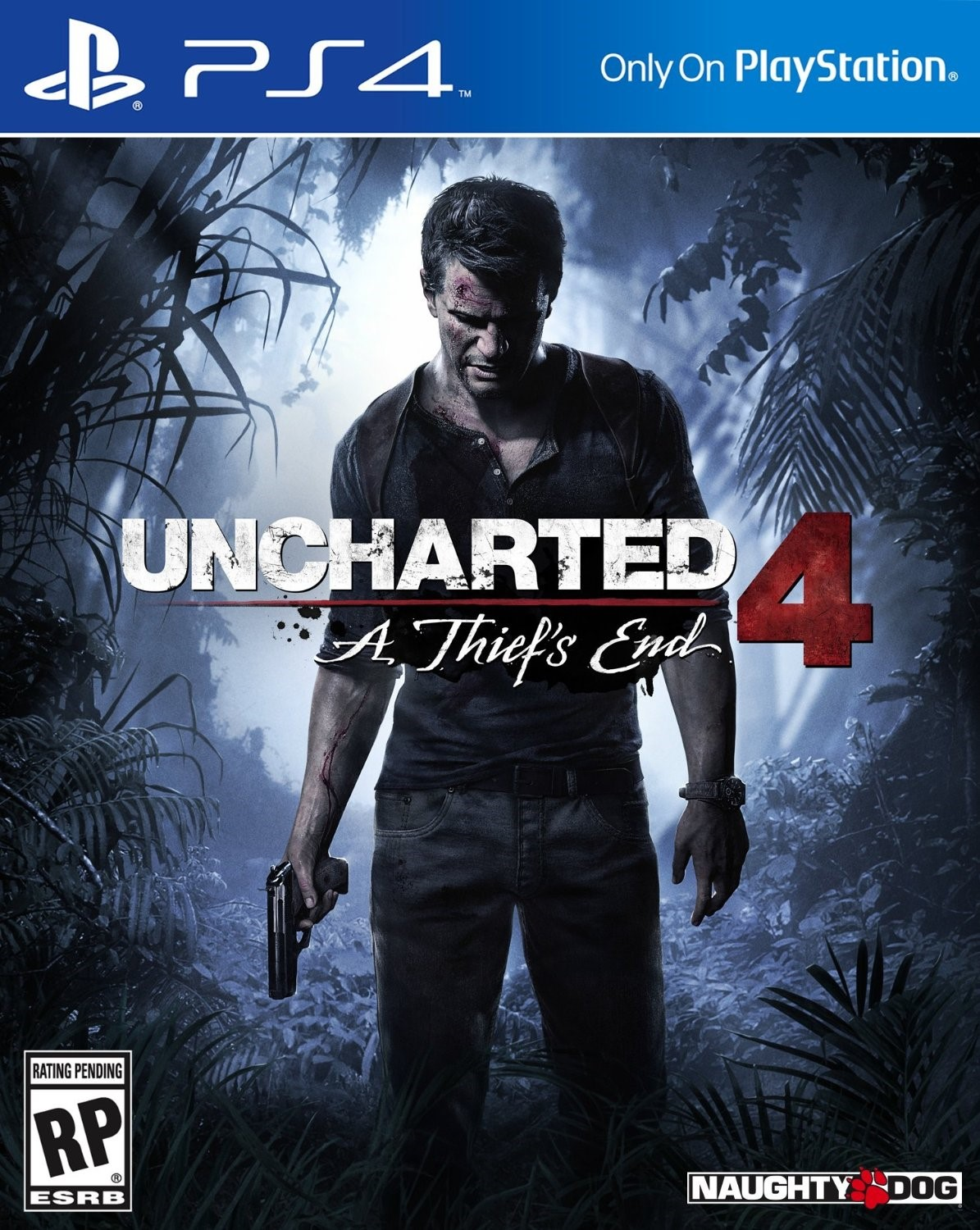 Uncharted 4+Just Cause+Syndicate+No Man's Sky(PS4)USA