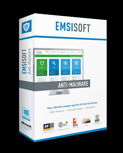 Emsisoft Anti-Malware 3 Года