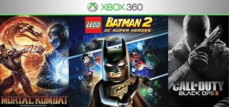 Mortal Kombat 9/Cod:Black Ops 2 +2игры (XBOX 360) общий