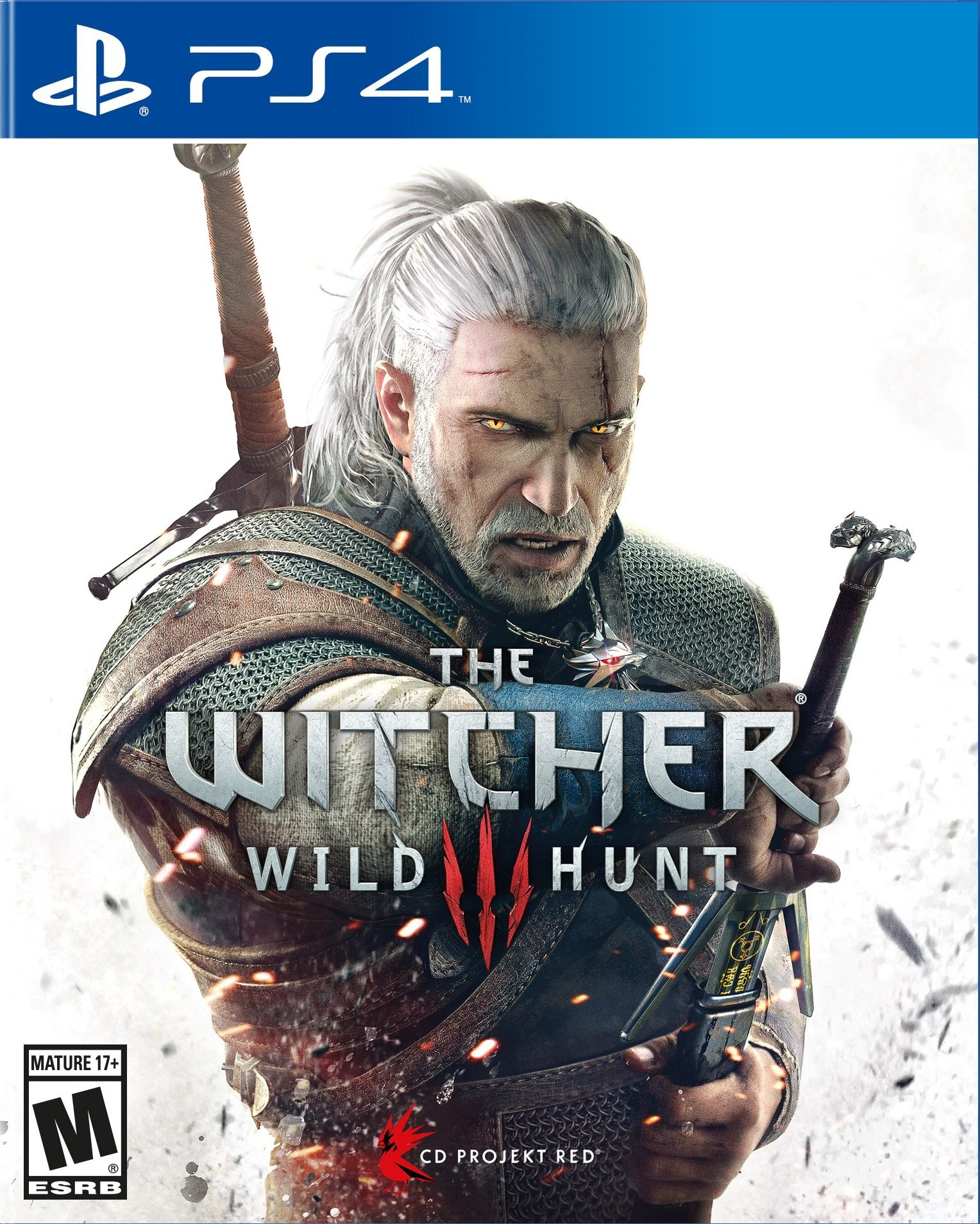 The Witcher 3+Fallout 4+Firewatch (PS4) USA