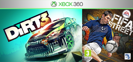 FIFA Street / DiRT 3 (XBOX 360) общий аккаунт