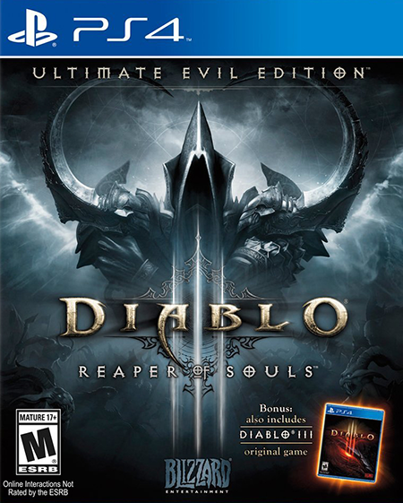 Diablo III+Dying Light+Borderlands (PS4) USA
