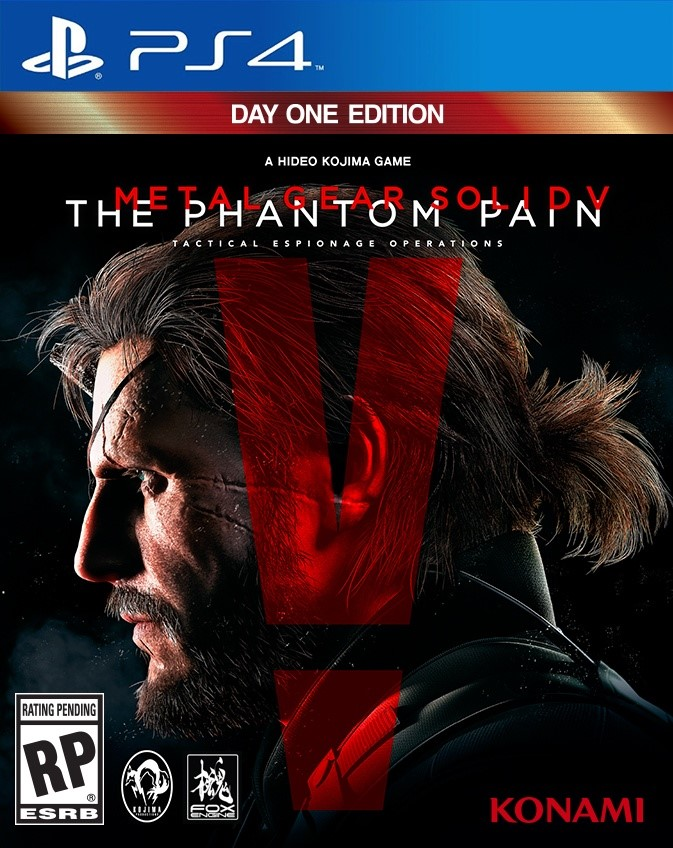 MGS V: THE PHANTOM PAIN+F1™ 2015 (PS4) ENG|RUS
