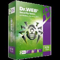Dr.Web Security Space 1 год 1 ПК 1моб +150дней REG FREE