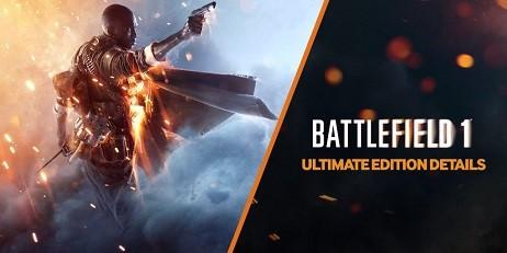 Battlefield 1 Ultimate Edition [origin]