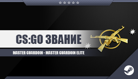 CS;GO Звание [Master Guardoin - Master Guardoin Elite]