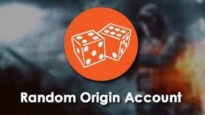 Случайный Origin аккаунт