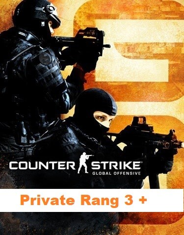Counter-Strike Global Offensive (Private Rang 3 +)
