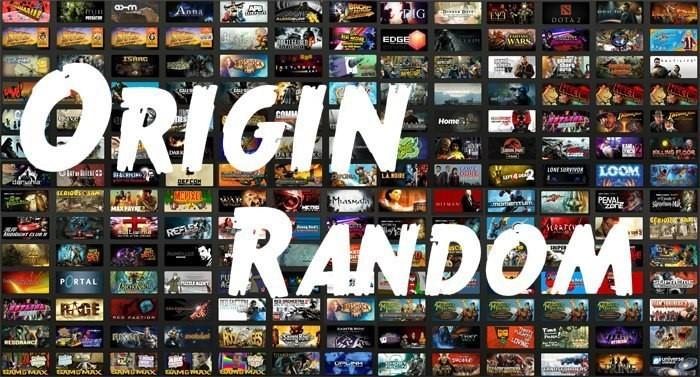Origin random от 10 игр