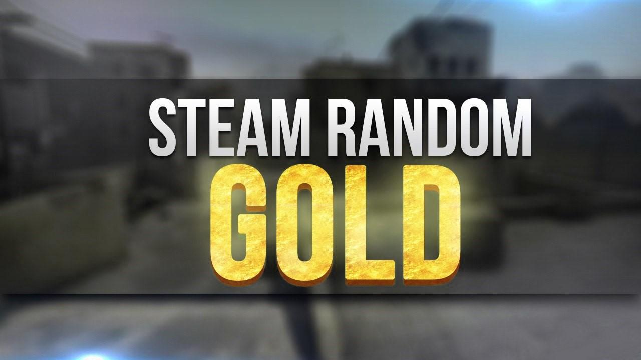 Случайный Steam ключ качества Gold