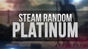 Случайный Steam ключ качества Platinum