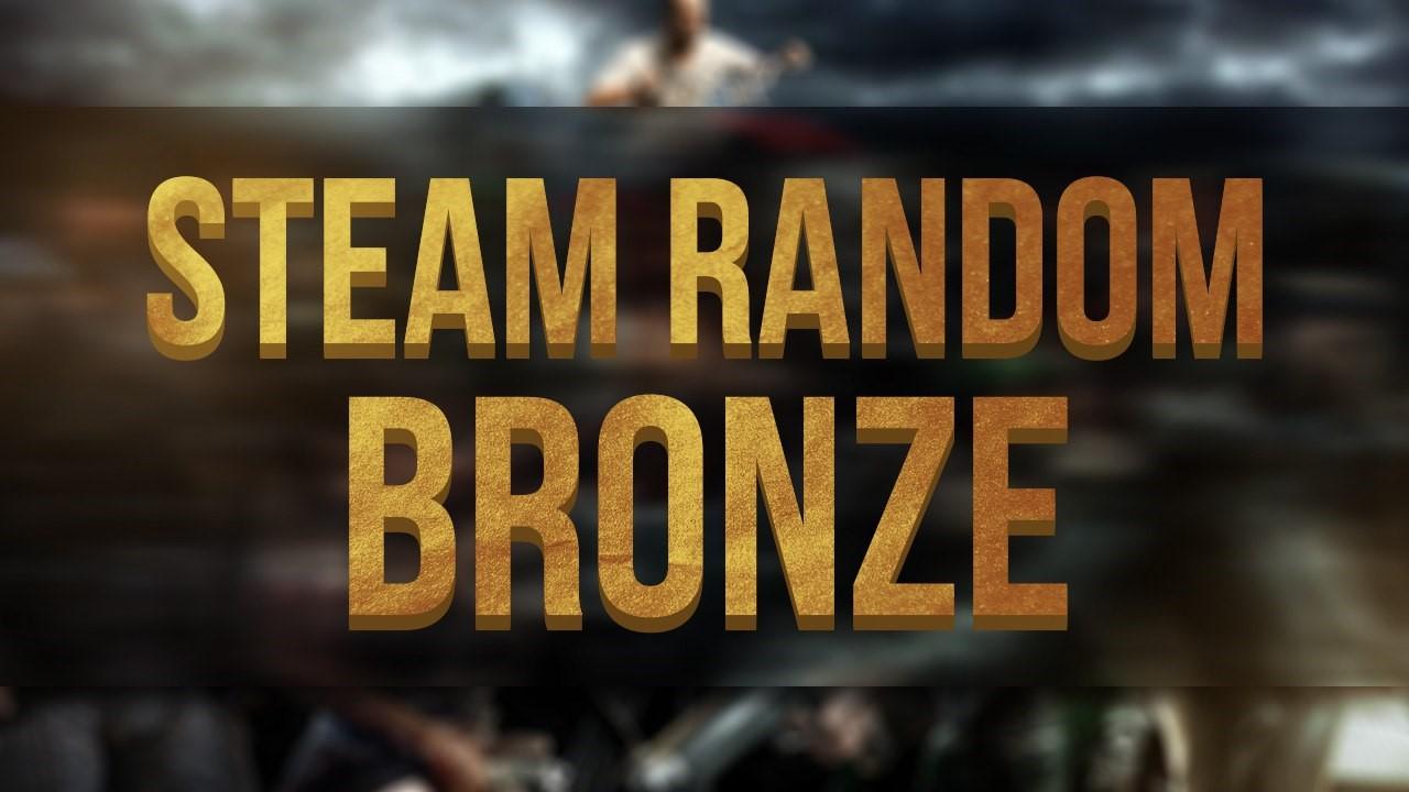 Случайный Steam ключ качества Bronze
