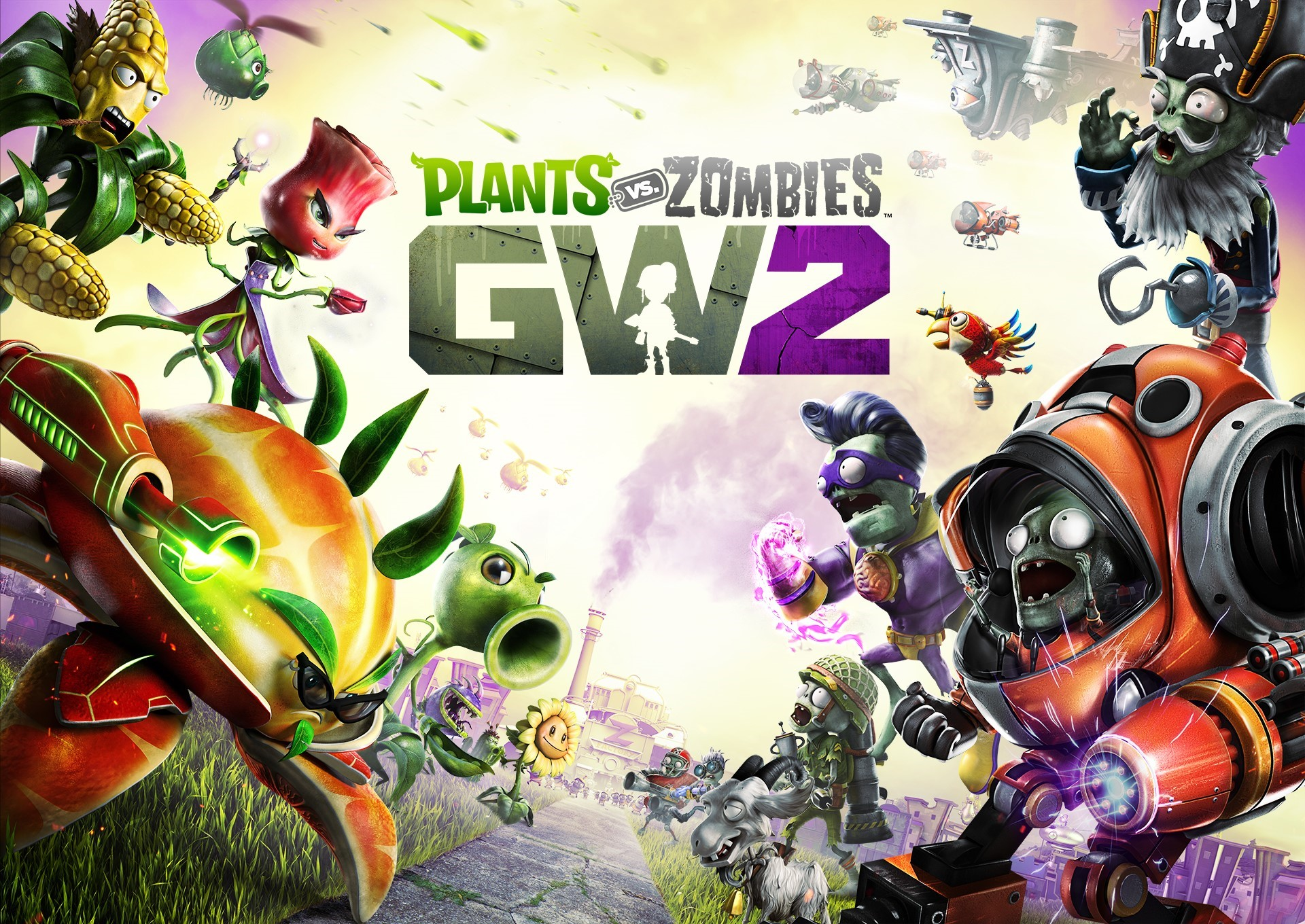Plants vs. Zombies Garden Warfare 2 [ + СЕКРЕТКА ]
