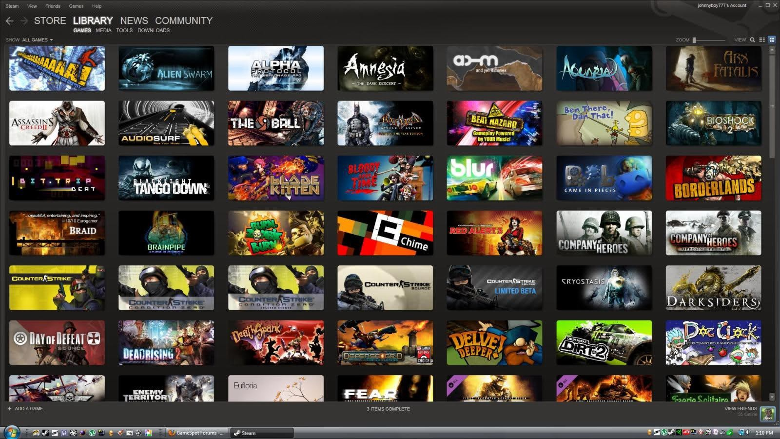 Random сборник Steam (от 30-50 игр)