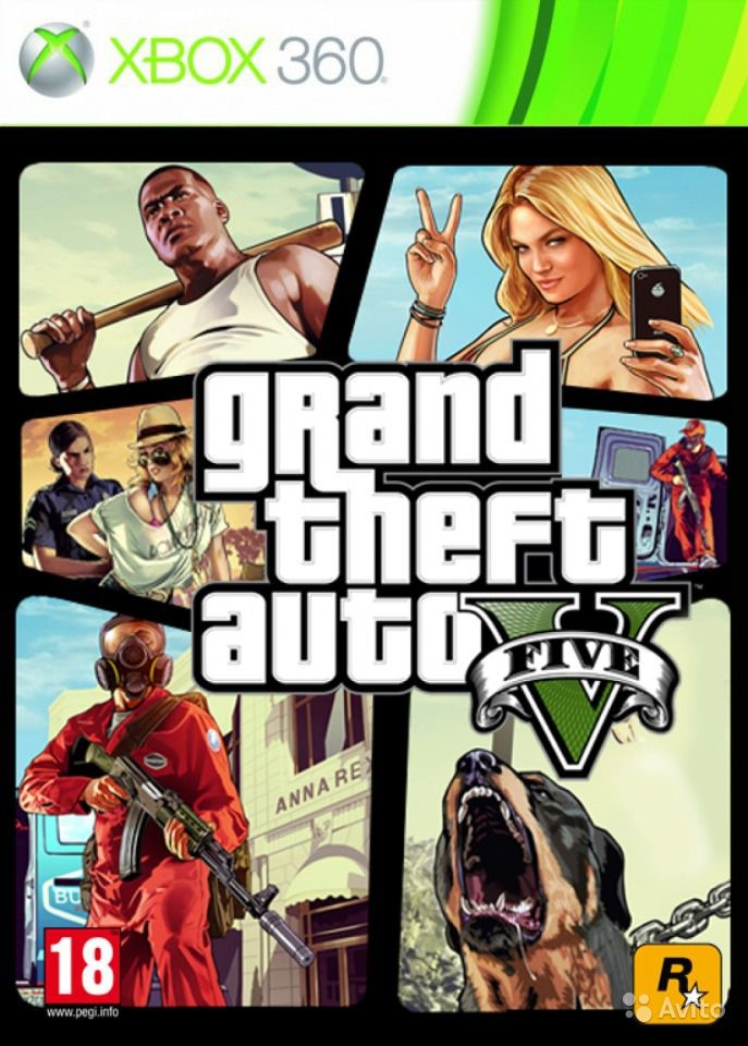 02. GTA 5 XBOX 360